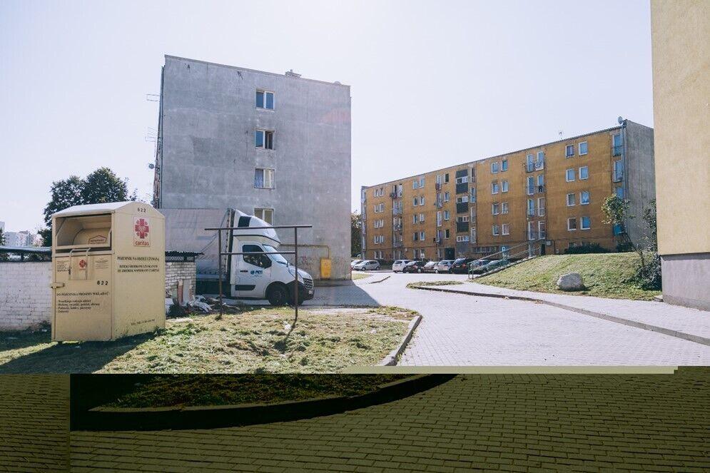 Przebudowa przestrzeni między ulicami Nauczycielską, Uczniowską i Widną